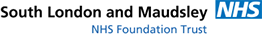 South London and Maudley NHS Foundation logo